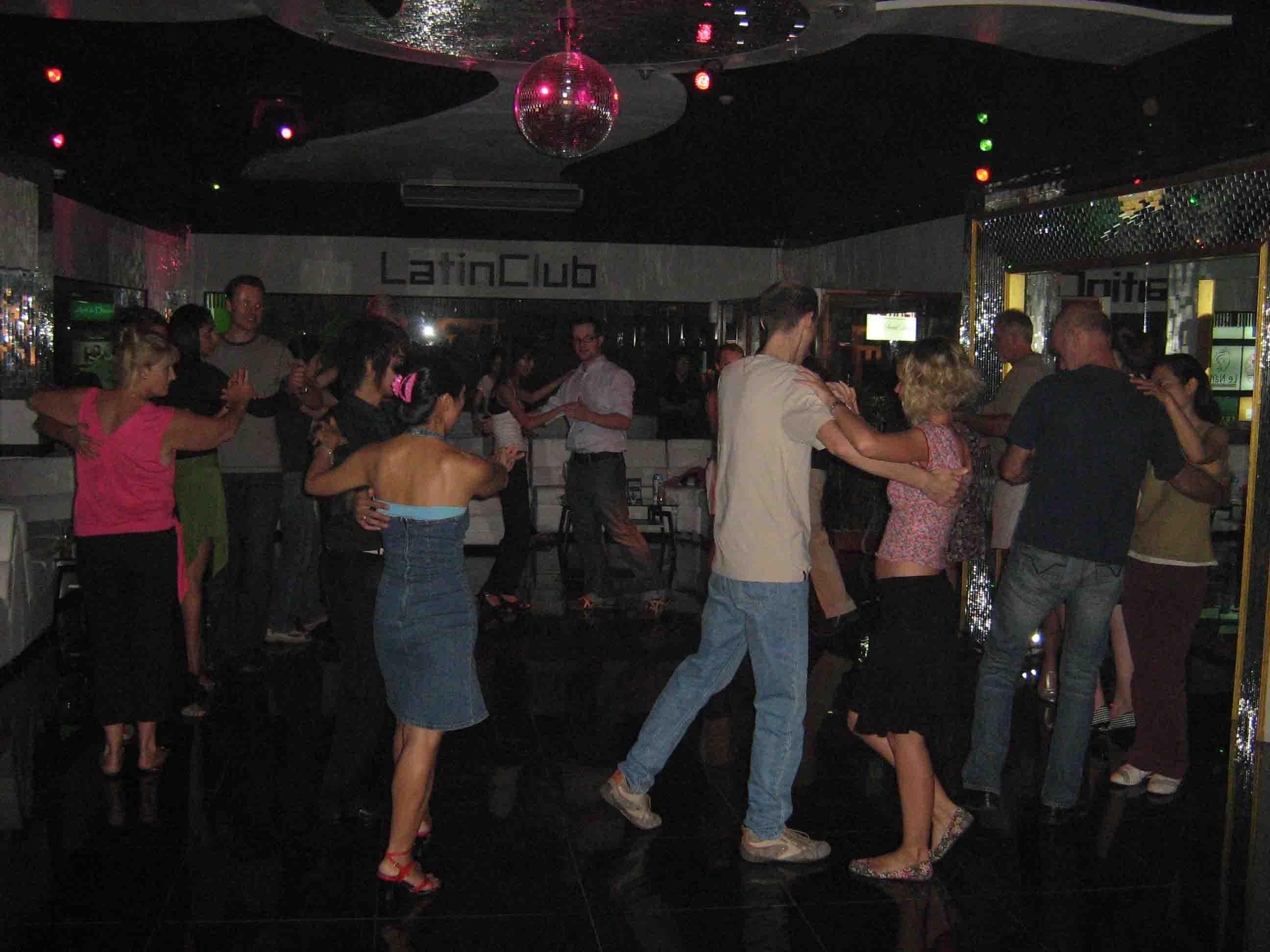 bank latin night clubs